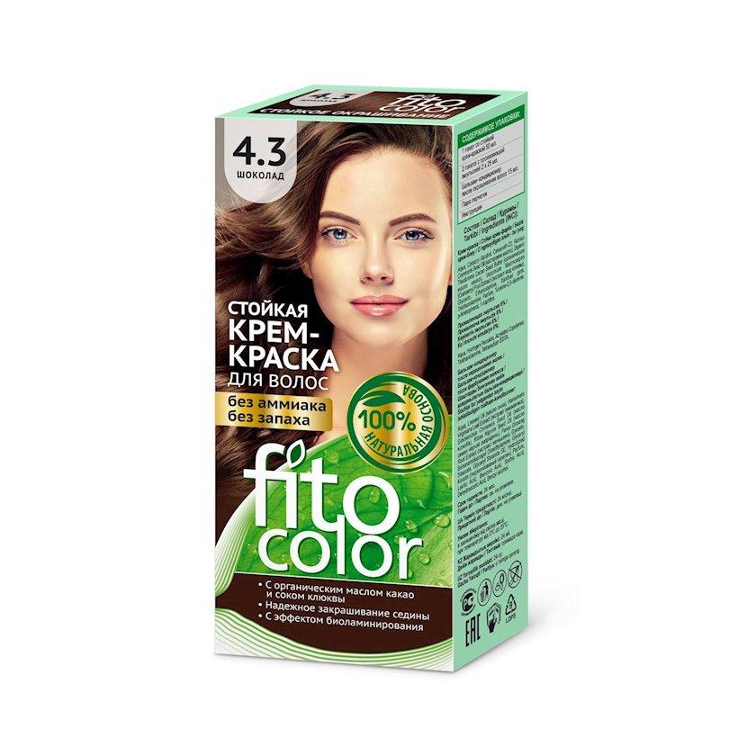 Saç üçün boya kremi Фитокосметик Fitocolor Şokolad 4.3 115 ml
