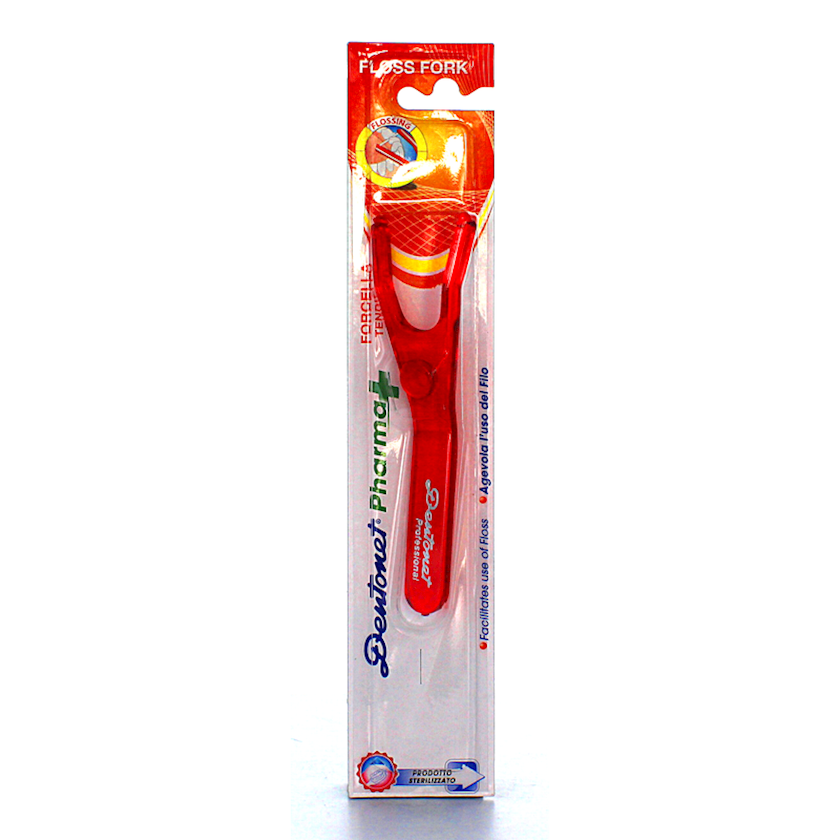 Diş ipi tutucu Dentonet Pharma Floss Fork