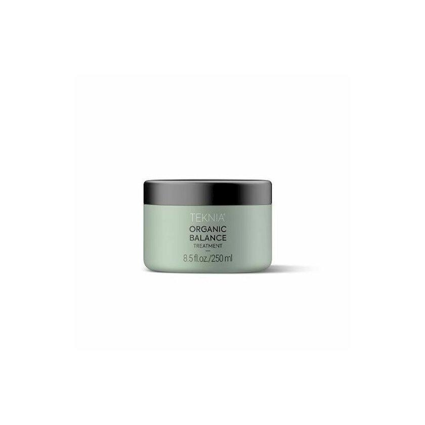 Saç üçün intensiv nəmləndirici maska Lakme Teknia Organic Balance Treatment 250 ml