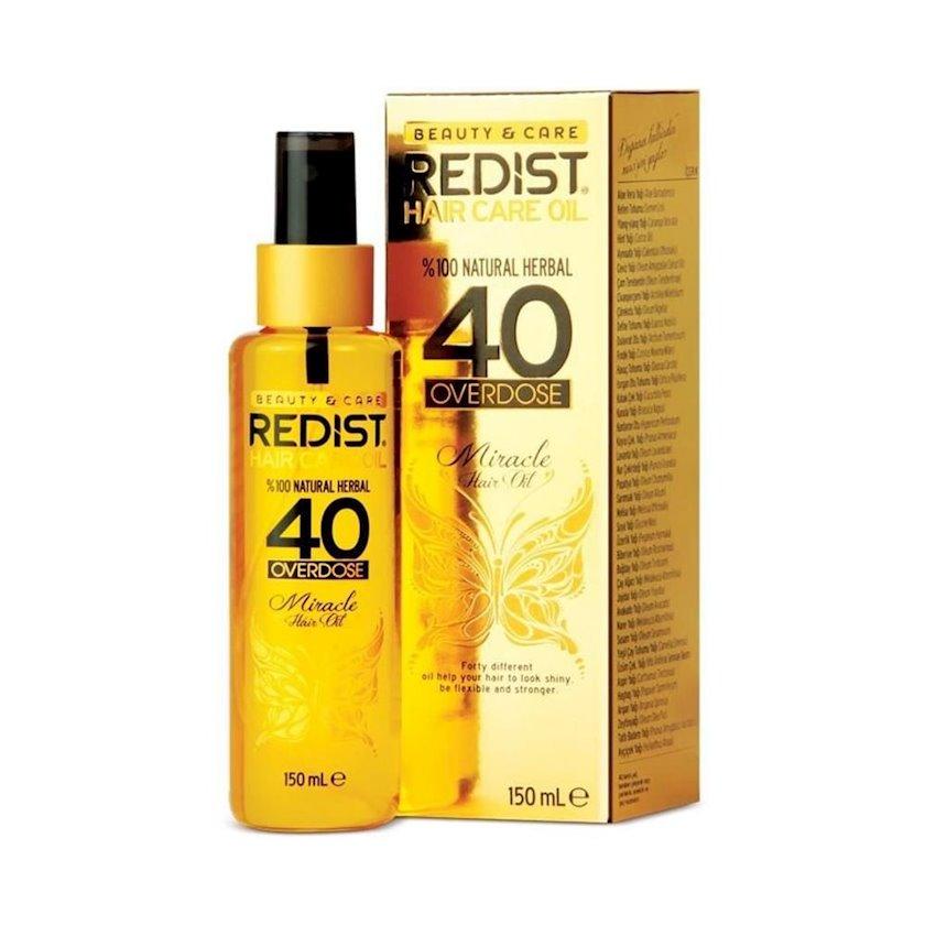 Saça qulluq yağı Redist 40 Overdose Miracle Hair Soft 150 ml