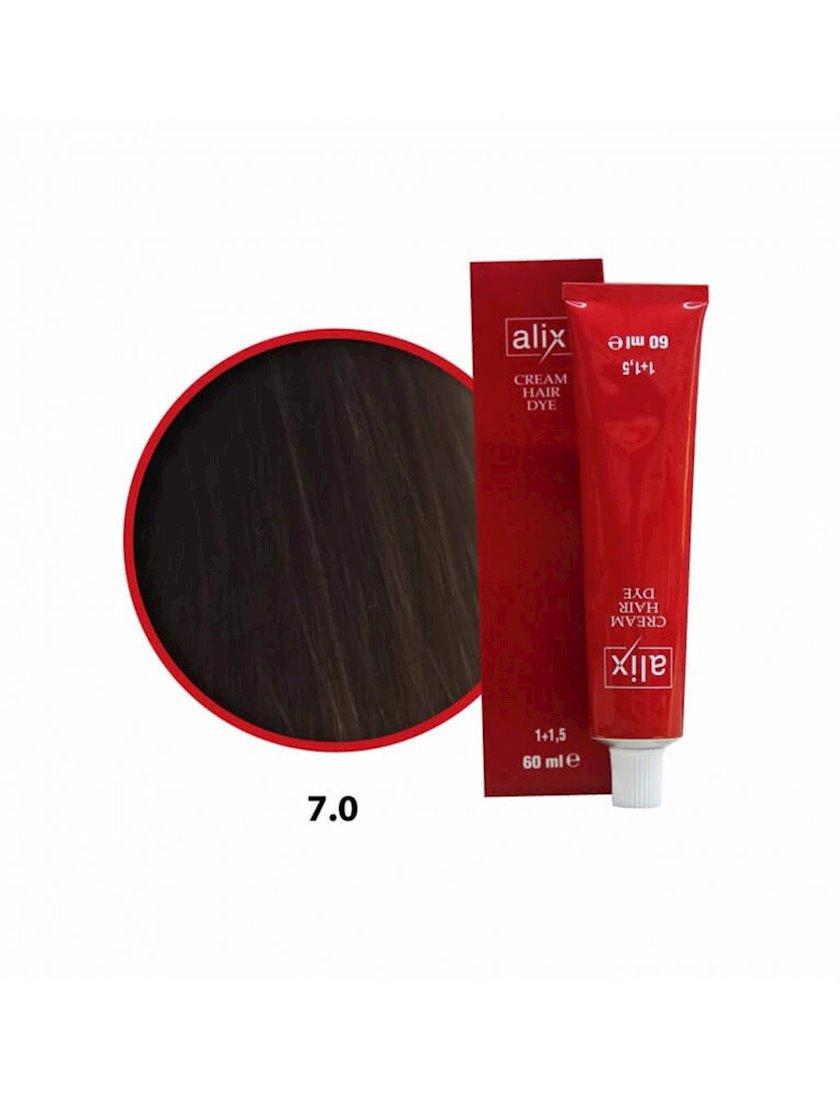 Saç boyası Alix Eko 7.0, 60 ml