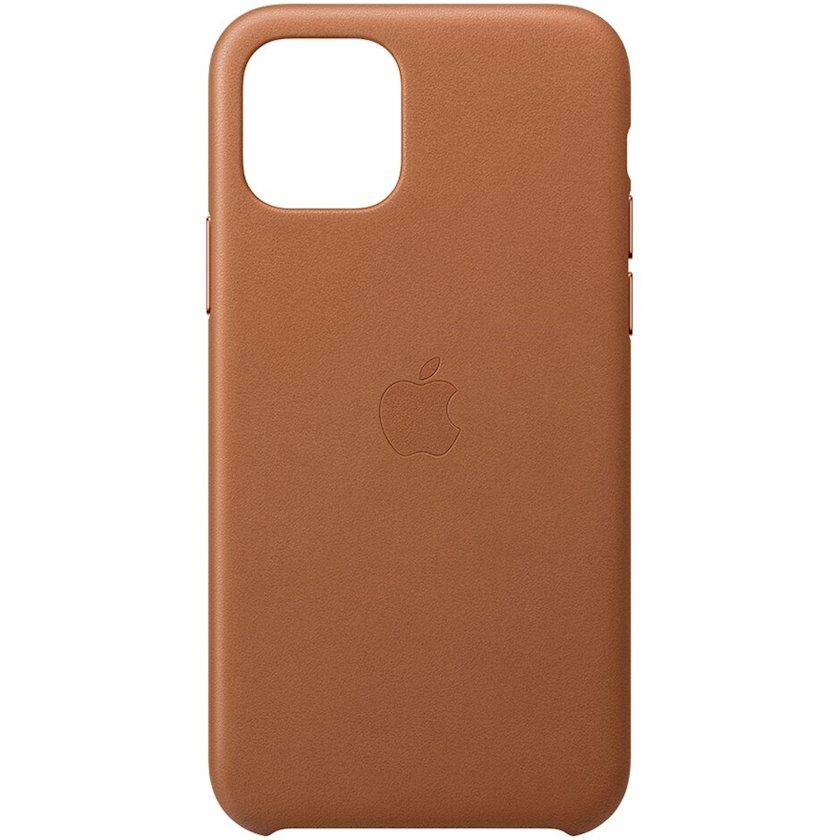 Çexol Leather Case iPhone Apple 11 Pro üçün   Brown