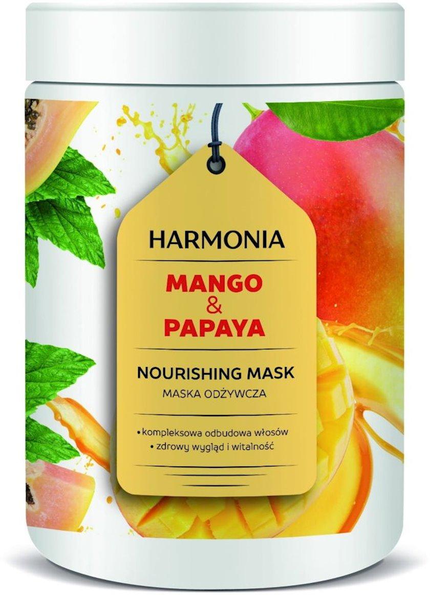 Saç üçün maska ProSalon Mango&Papaya Qidalandırıcı 1000 ml