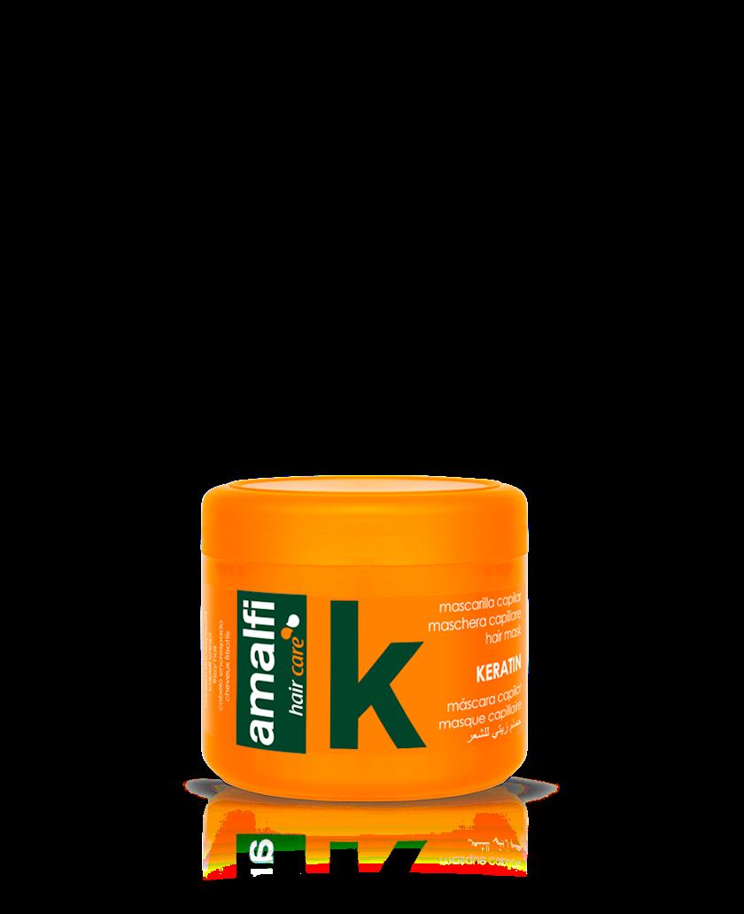 Saç üçün maska Amalfi Keratin Qidalandırıcı 500 ml