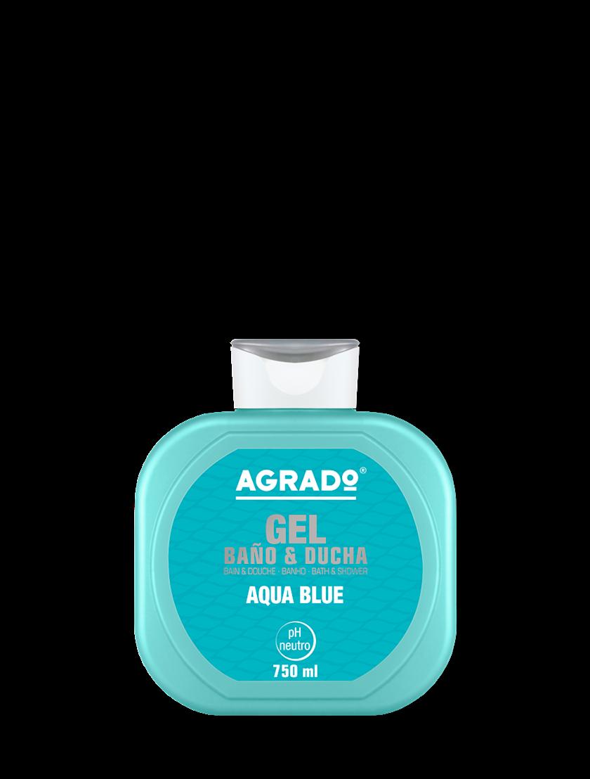 Düş və hamam üçün gel Agrado Aqua blue 750 ml
