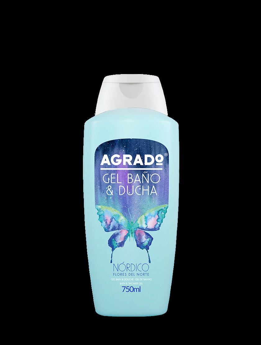 Düş və hamam üçün gel Agrado Nordic 750 ml