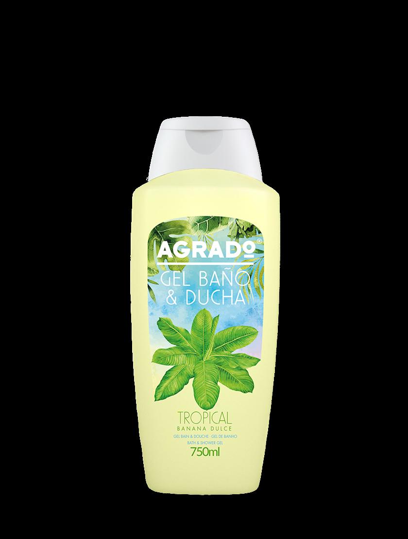 Düş və hamam üçün gel Agrado Tropical 750 ml