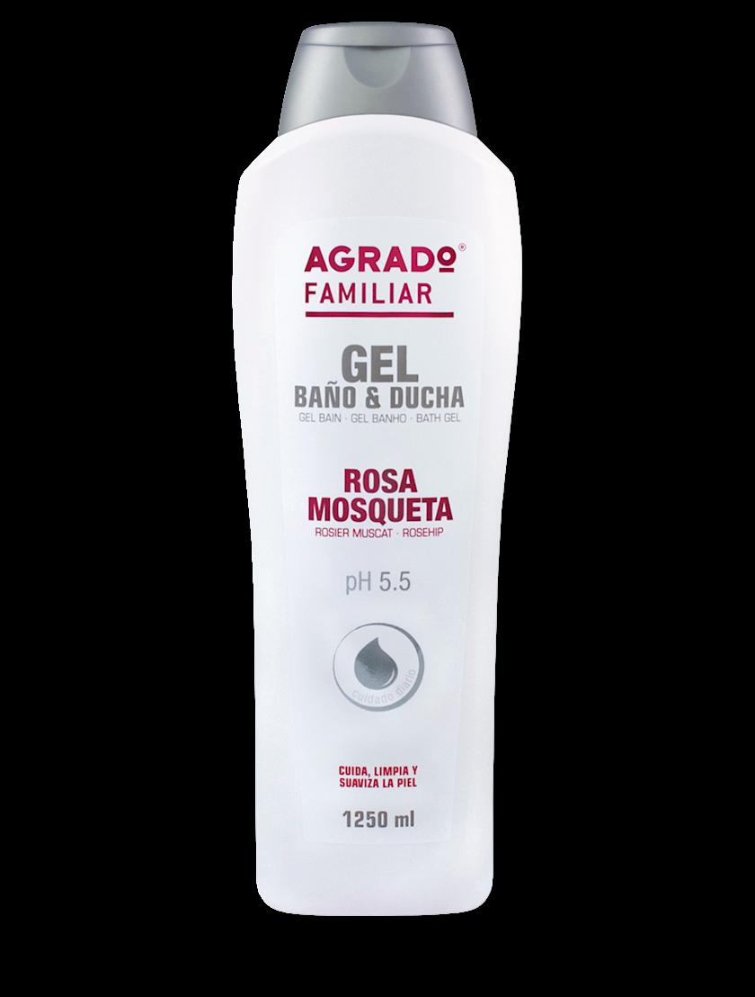 Düş və hamam üçün gel Agrado Rosehip 750 ml