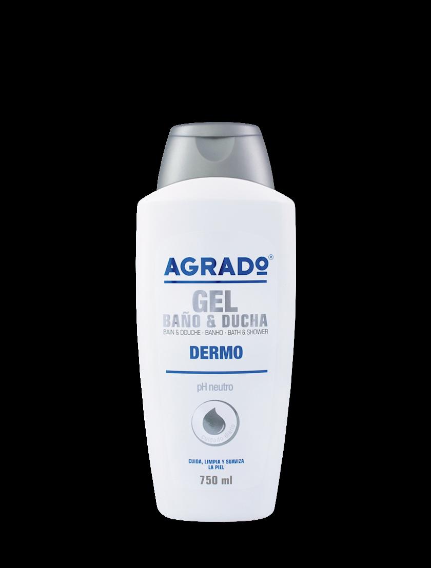 Düş və hamam üçün gel Agrado Dermo 750 ml