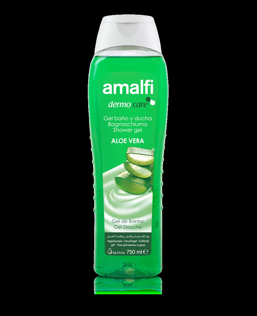 Düş və hamam üçün gel Amalfi Aloe Vera 750 ml