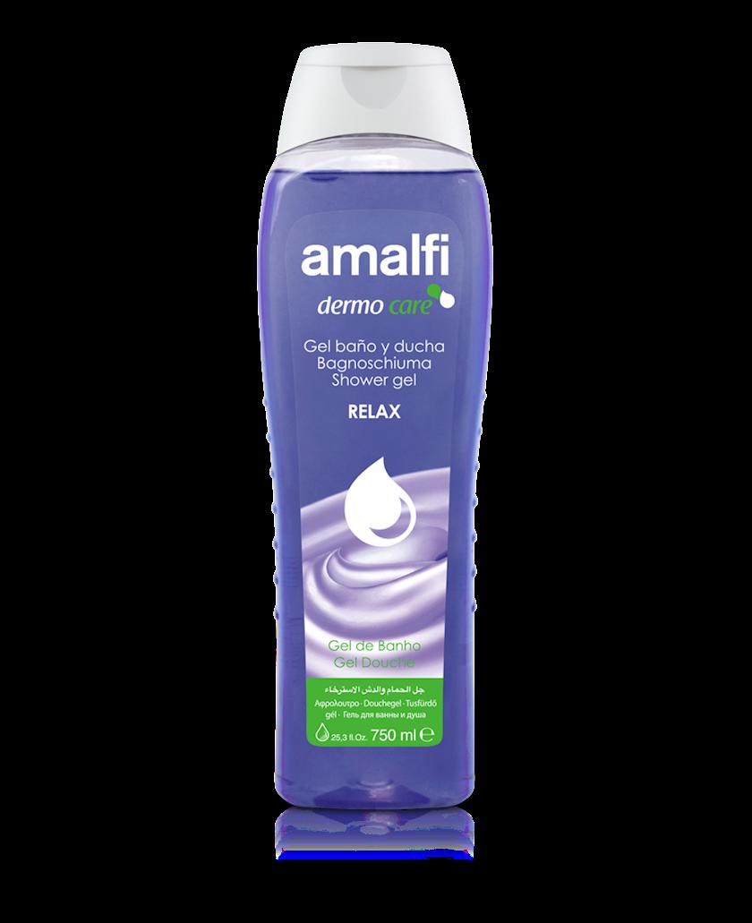 Düş və hamam üçün gel Amalfi Relax 750 ml
