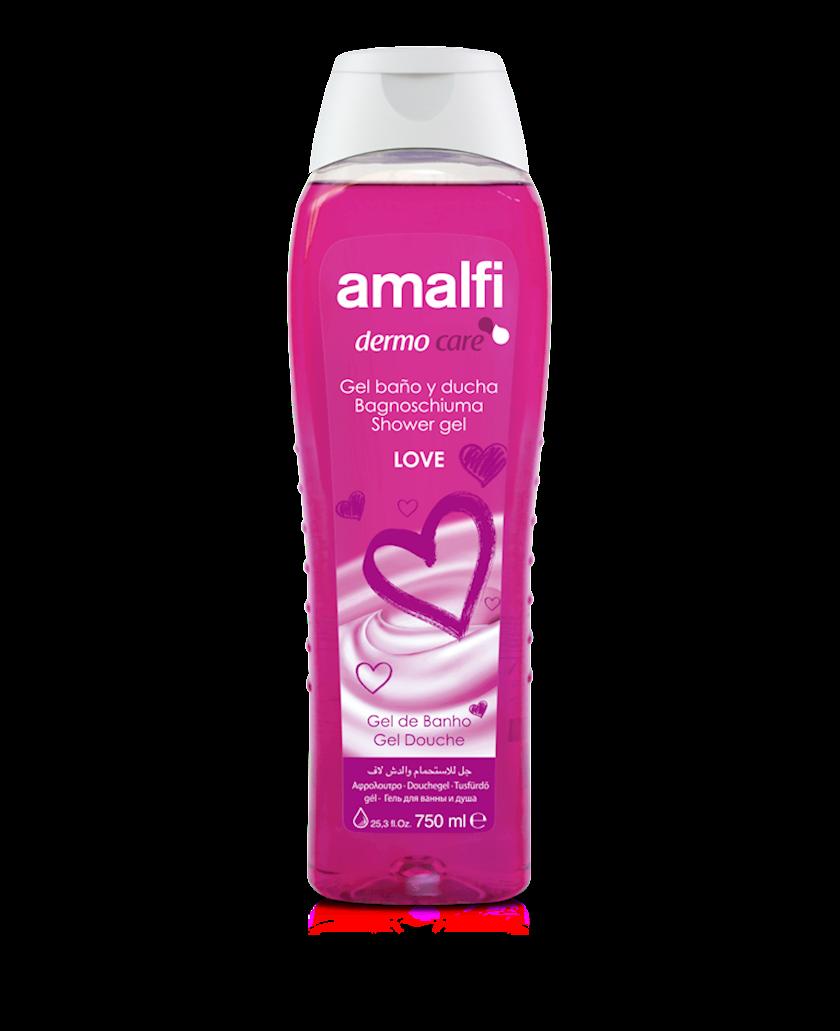 Düş və hamam üçün gel Amalfi Love 750 ml