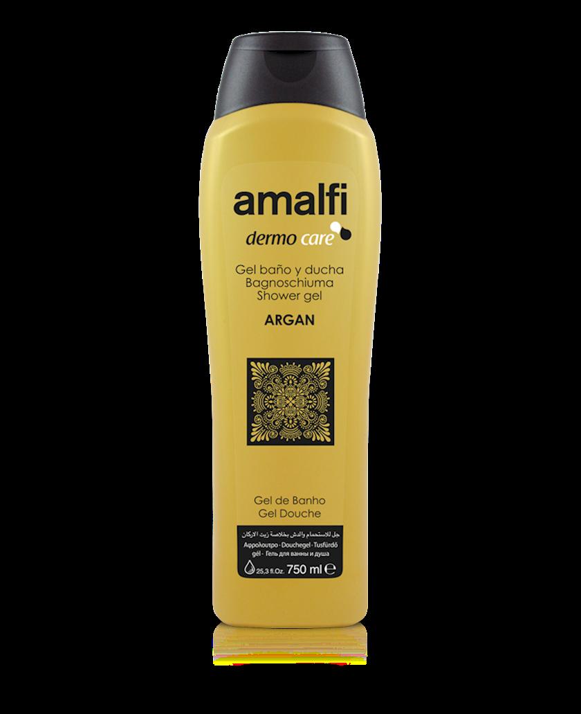 Düş və hamam üçün gel Amalfi Argan arqan yağı ilə 750 ml