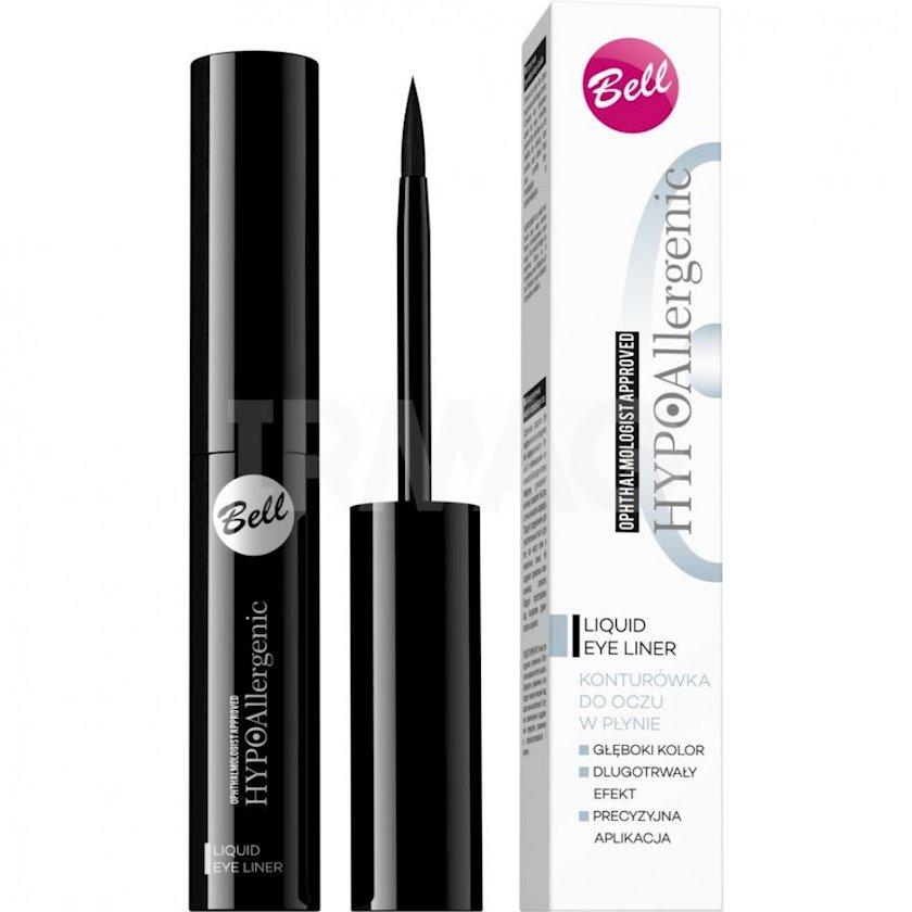 Göz üçün layner Bell Hypoallergenic Liquid Eyeliner Qara 3.5 q