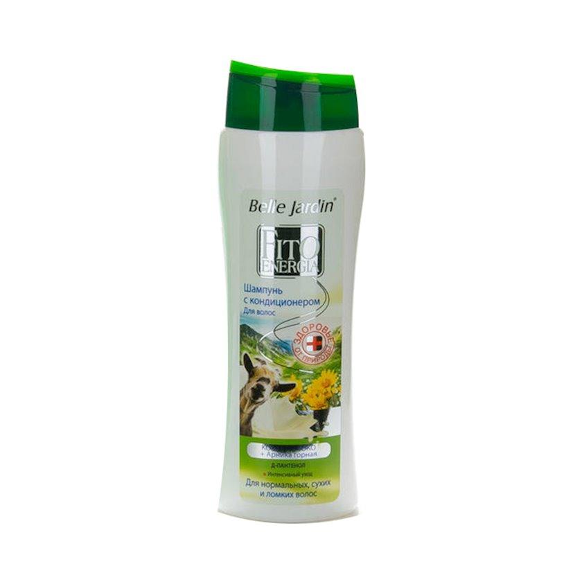 Şampun və kondisioner Belle Jardin Fito Energia Keçi südü və dağlıq arnika, 400 ml