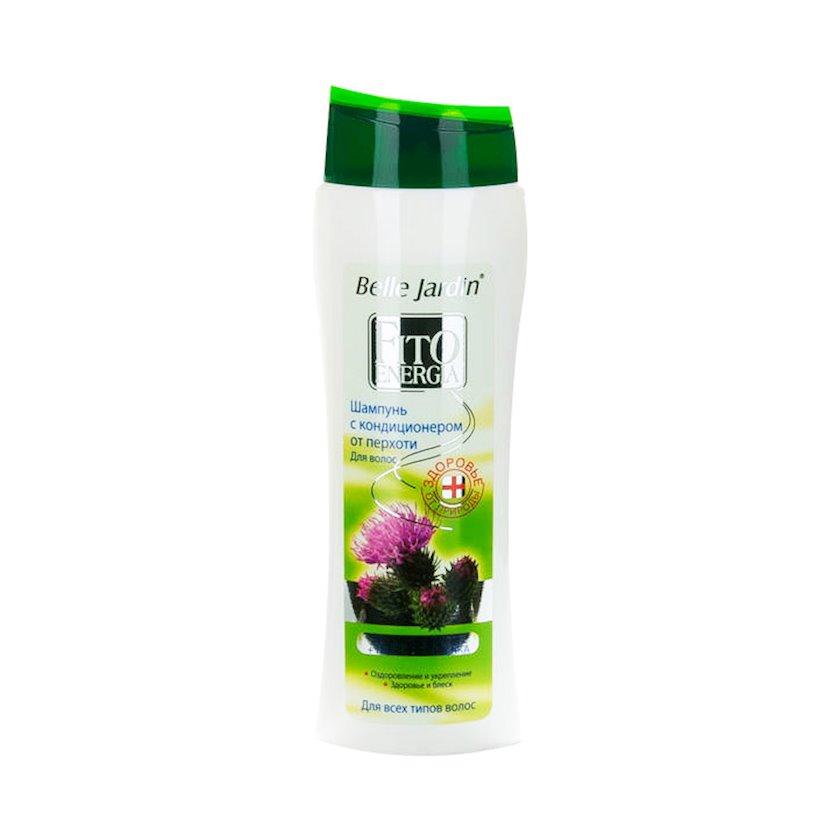 Şampun və kondisioner Belle Jardin Fito Energia Ayıpəncəsi yağı və ipək proteinləri, 400 ml