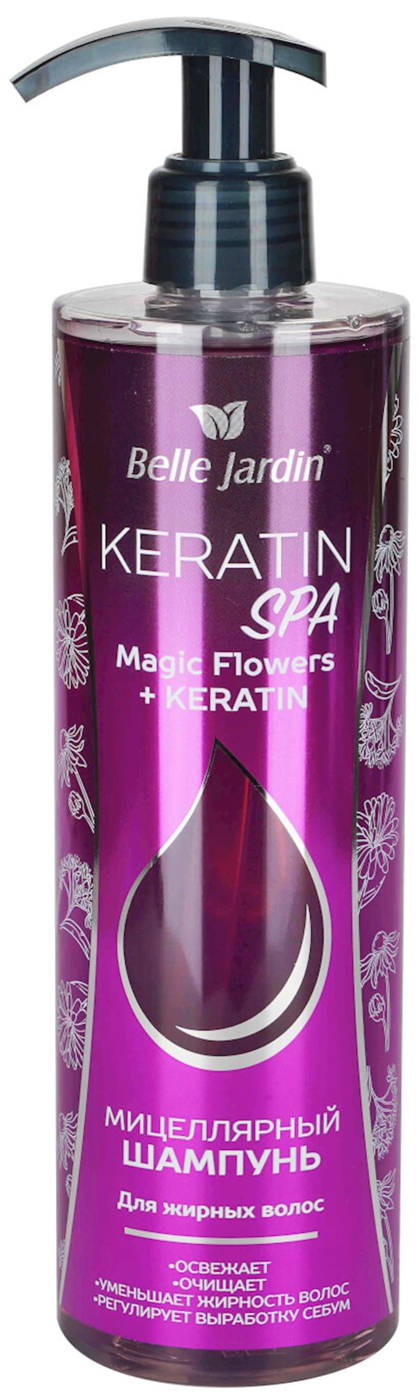 Şampun Belle Jardin Keratin SPA Magic Flowers, 400 ml