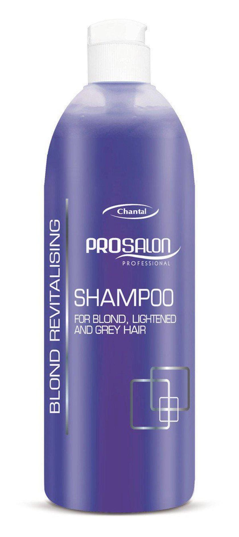 Şampun Prosalon Shampoo For Blond Lightened And Grey Hair, 500 ml