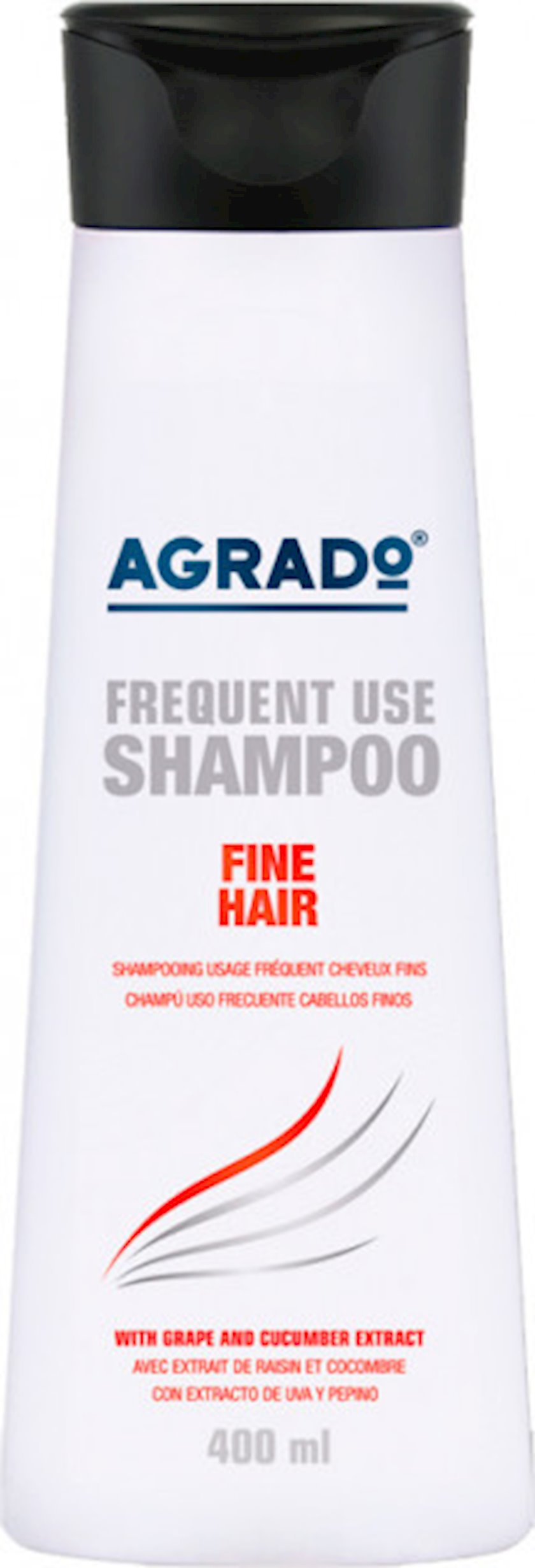 Şampun Agrado Fine Hair, 400 ml