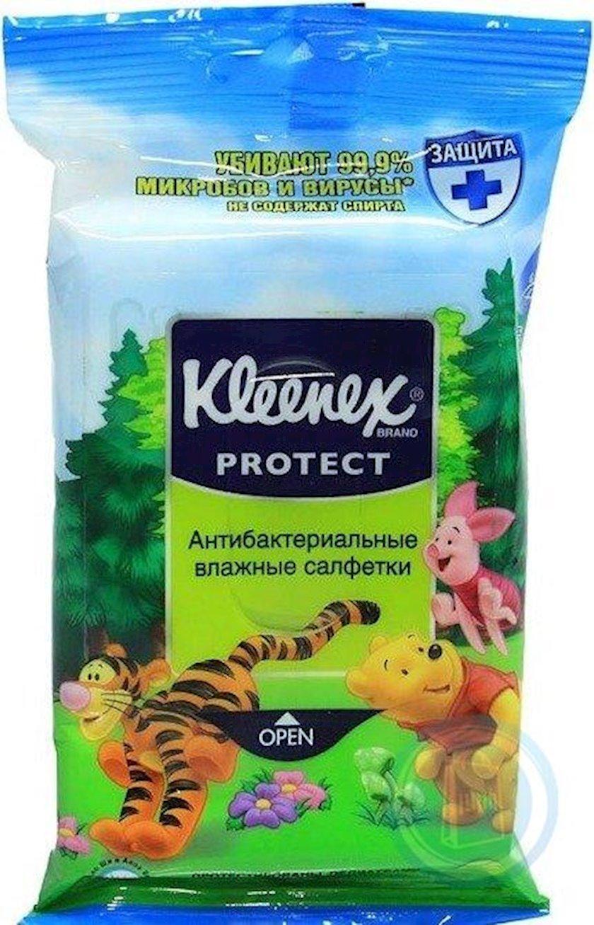 Antibakterial əl salfetləri Kleenex Zərif qoruma Disney N10 Kimberly-Clark
