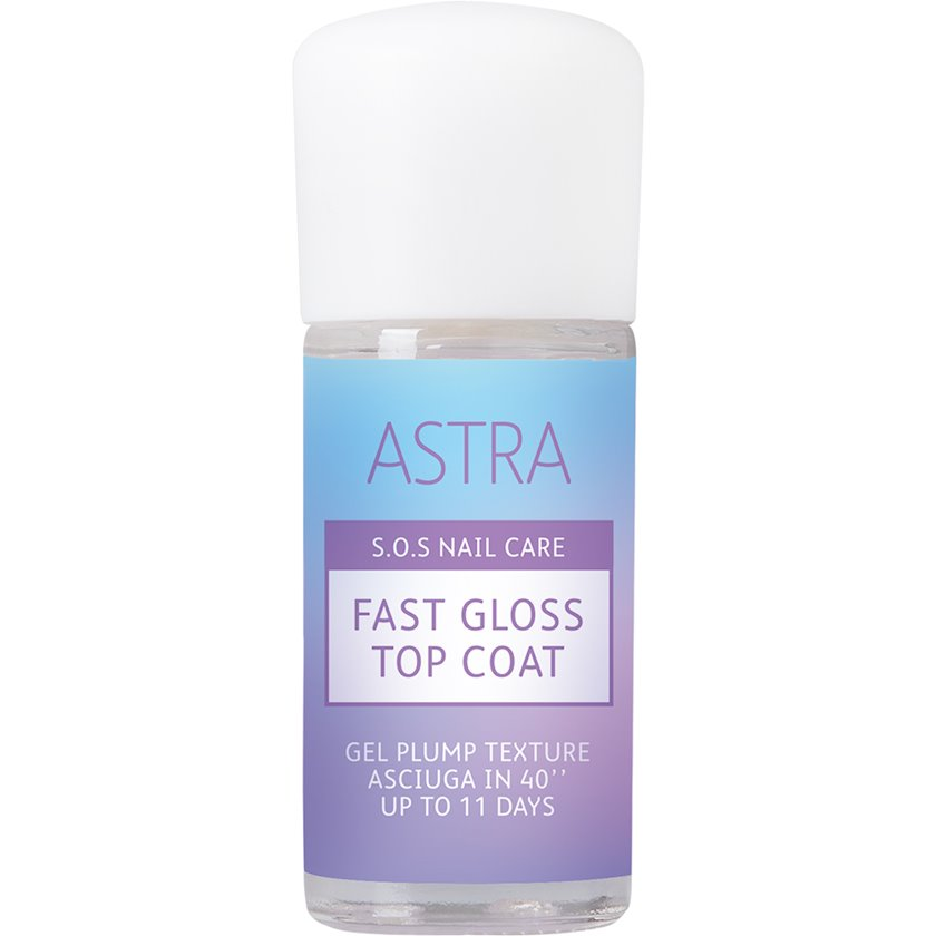Üst örtük Astra SOS Nail Care Fast Gloss Top Coat 12 ml