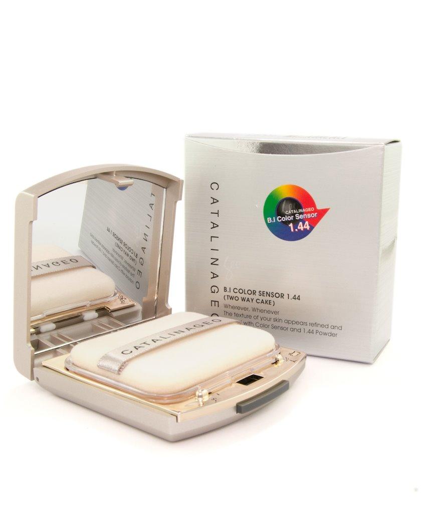 Krem-kirşan Catalina Geo B.I Color Sensor 1.44 Two Way Cake № 12 Cream Rose, 11 q