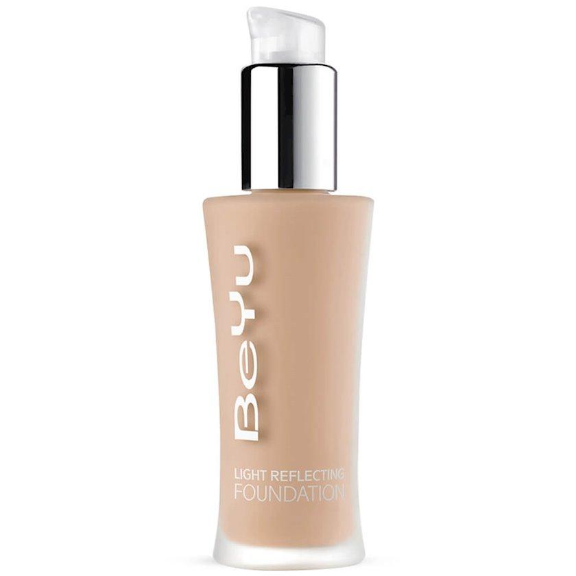 Tonal krem BeYu Light Reflecting Foundation 9 Peach Silk, 30 ml