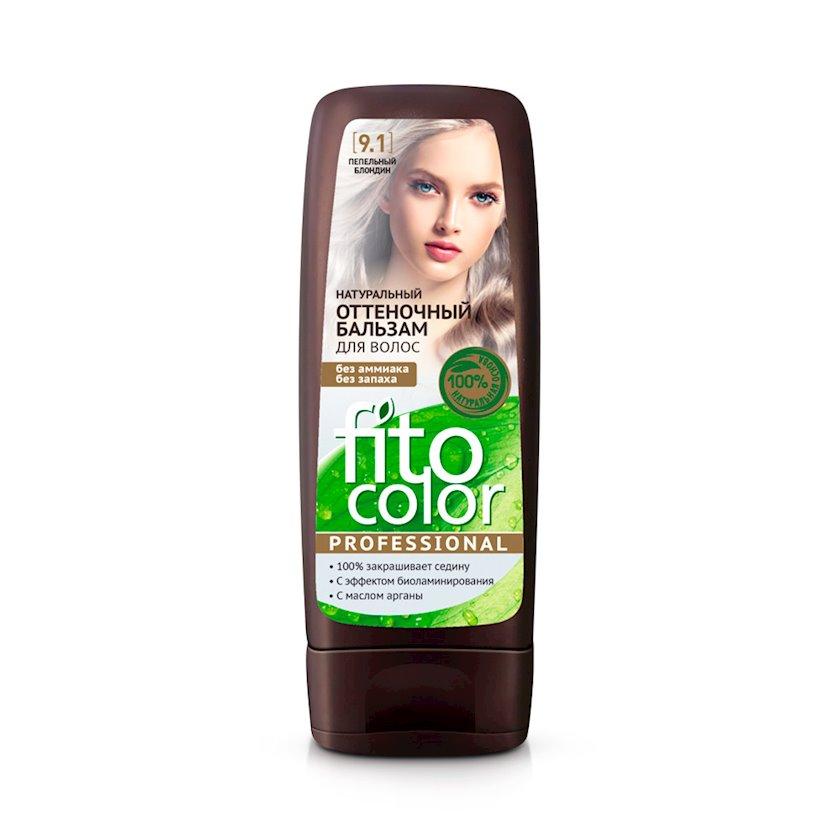 Çalar dəyişdirən balzam Фитокосметик Fito Color Professional 9.1 Kül Sarışın 140 ml