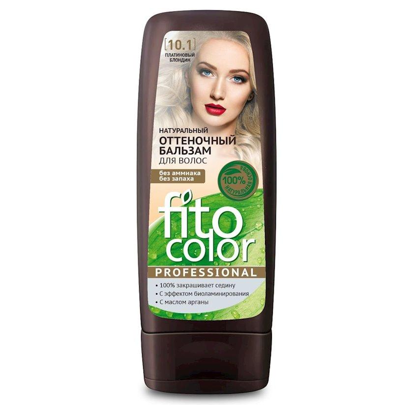 Çalar dəyişdirən balzam Фитокосметик Fito Color Professional 10.1 Platin Sarışın 140 ml