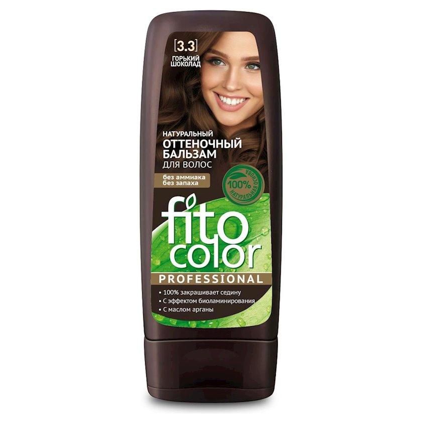 Çalar dəyişdirən balzam Фитокосметик Fito Color Professional 3.3 Tünd Şokolad 140 ml
