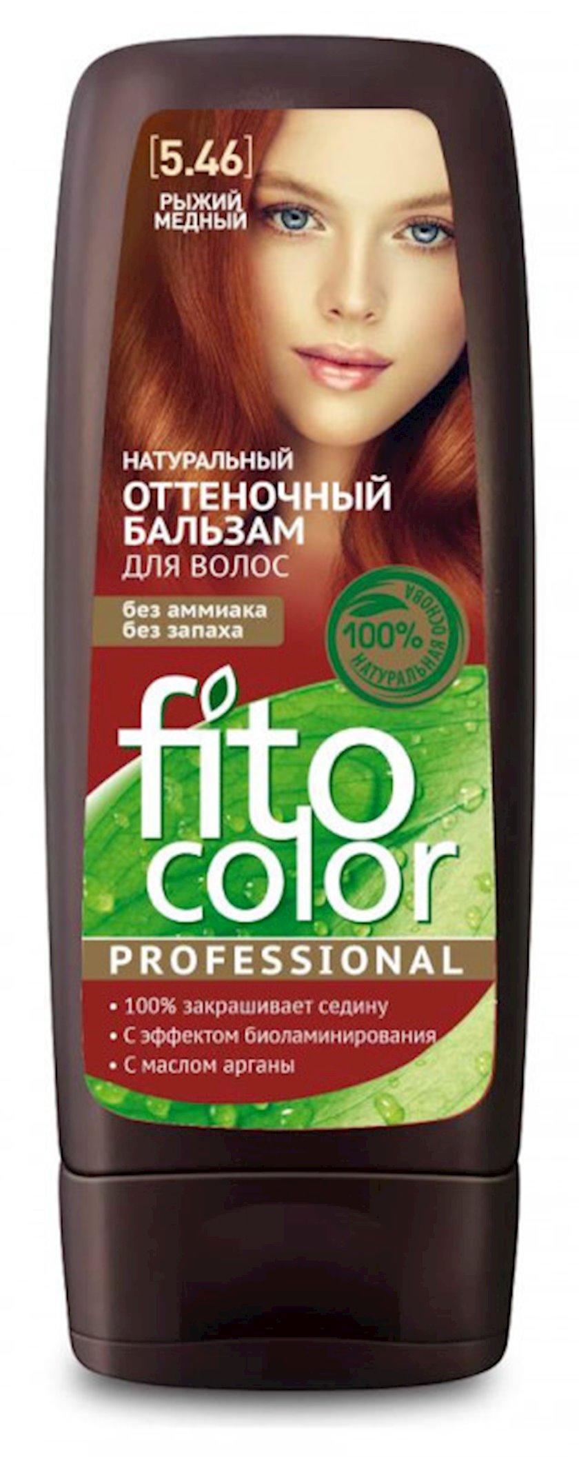 Çalar dəyişdirən balzam Фитокосметик Fito Color Professional 5.46 Qırmızı Mis 140 ml