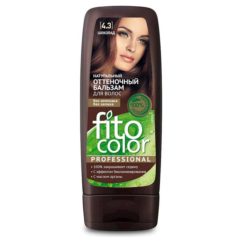 Çalar dəyişdirən balzam Фитокосметик Fito Color Professional 4.3 Şokolad 140 ml