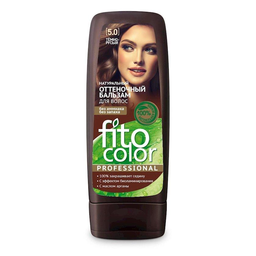 Çalar dəyişdirən balzam Фитокосметик Fito Color Professional 5.0 Tünd Xurmayı 140 ml