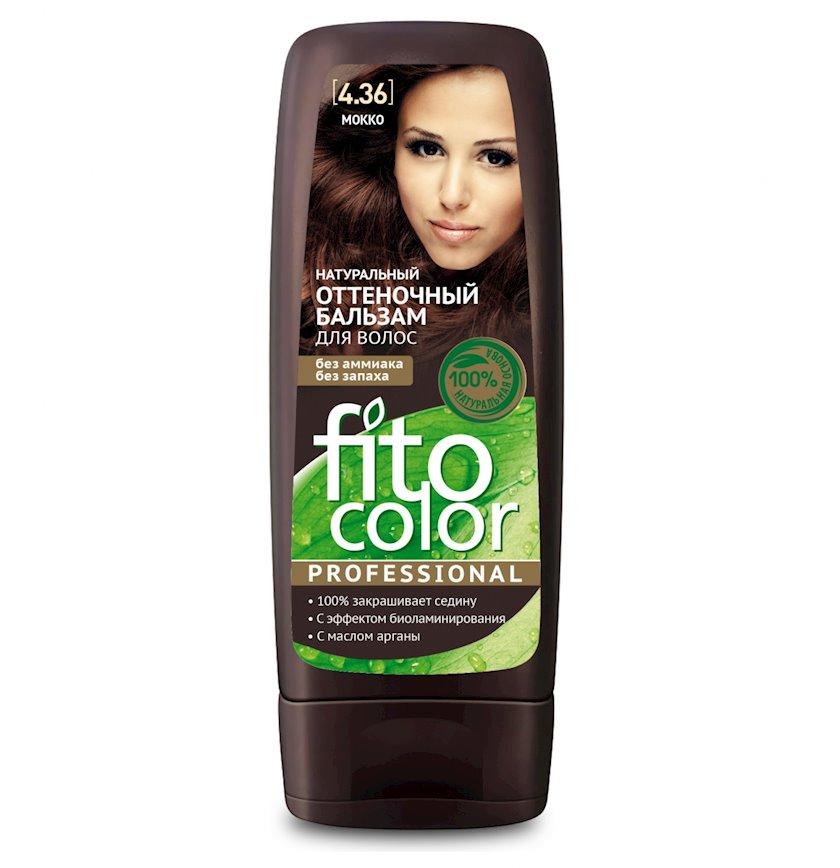 Çalar dəyişdirən balzam Фитокосметик Fito Color Professional 4.36 Mokko 140 ml