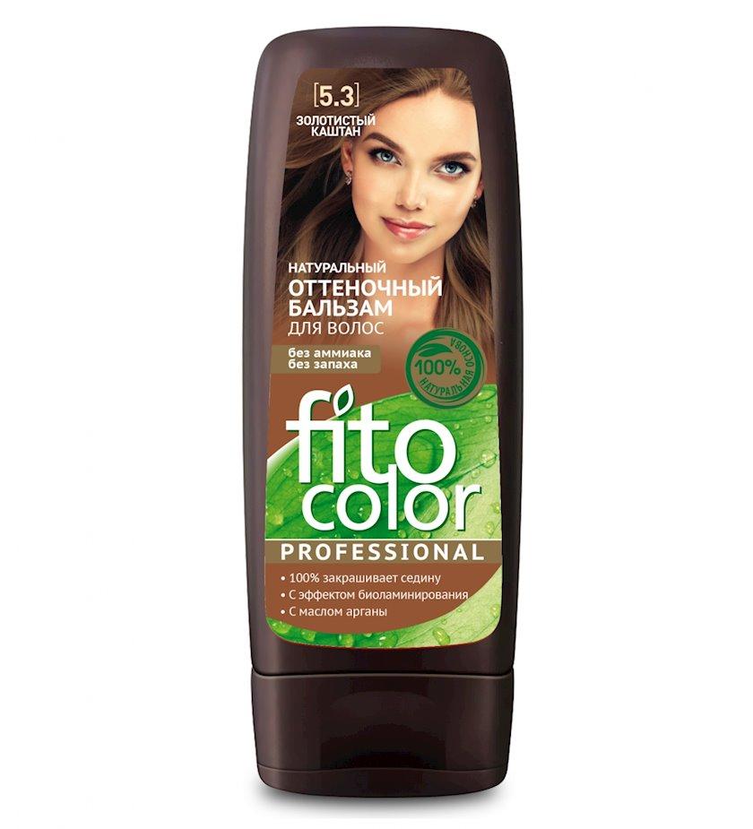 Çalar dəyişdirən balzam Фитокосметик Fito Color Professional 5.3 Qızılı Şabalıd 140 ml