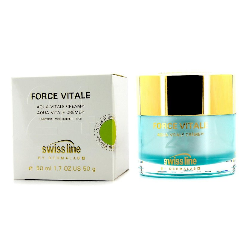 Üz üçün krem Swiss Line Force Vitale Aqua-Vitale Cream 24, 50 ml