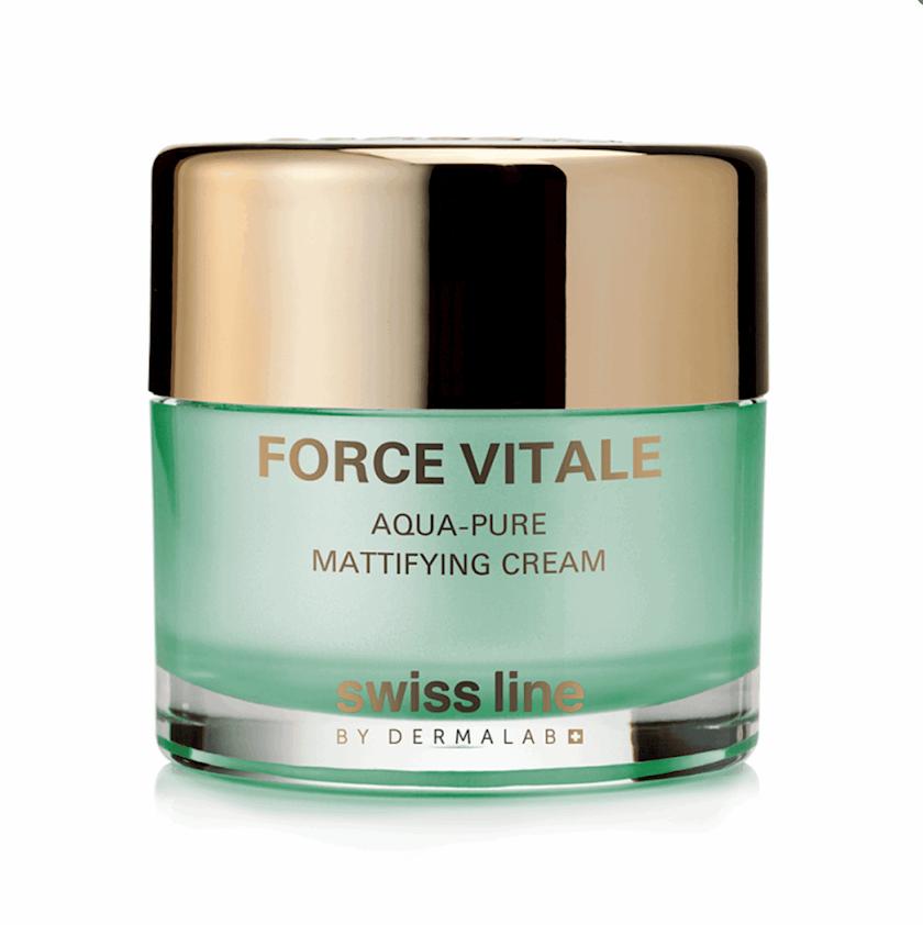 Üz üçün krem Swiss Line Force Vitale Aqua-Pure Mattifying Cream, 50 ml