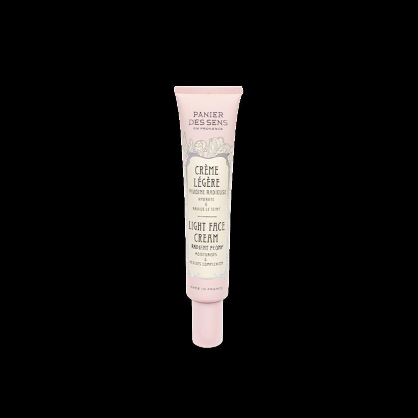 Дневной Üz üçün krem Panier Des Sans Radiant peony light face cream, 40 ml