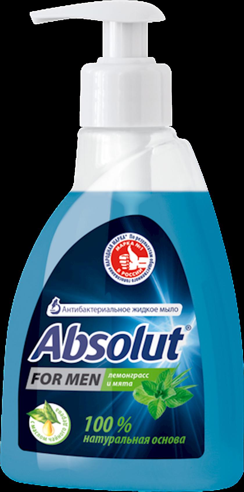 Antibakterial maye sabun Absolute limon otu və nanə, 250