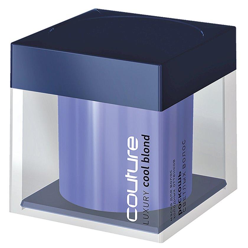 Saç maskası soyuq çalarlar üçün Estel Professional Luxury Cool Blond Haute Couture 200 ml