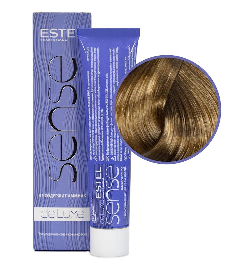 Saç üçün boya Estel De Luxe Sense 8/0 Açıq xurmayı 60 ml