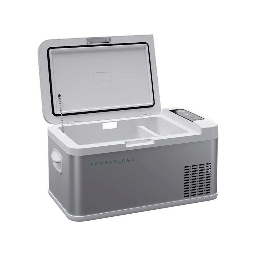 Portativ soyuducu Powerology Portable Fridge and Freezer Gray 18 l