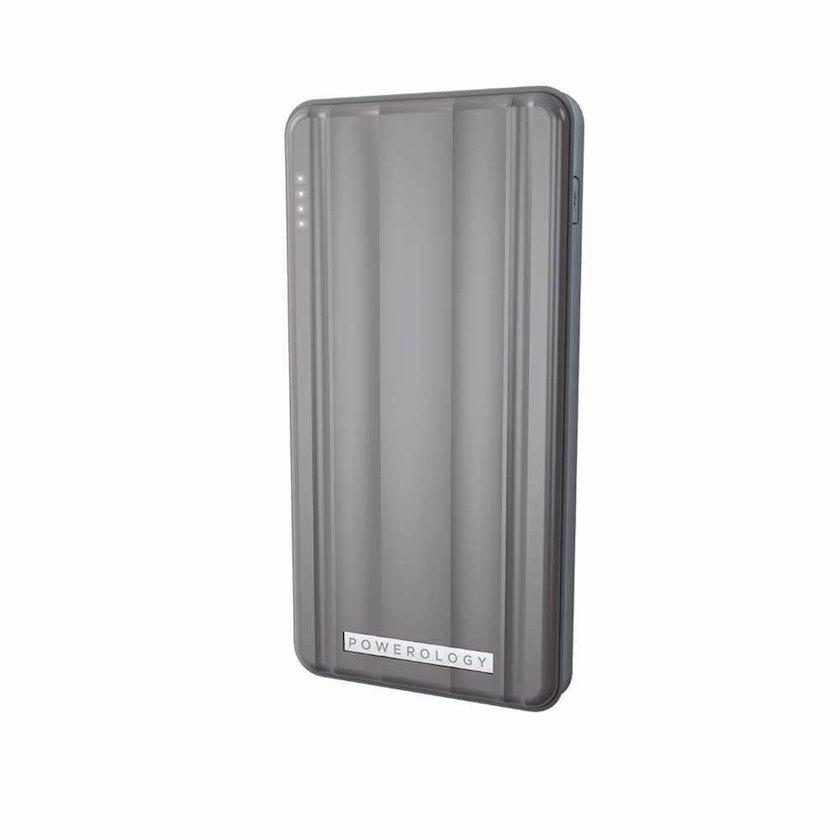 Powerbank Powerology Slim PD 10000mAh 18W Gray