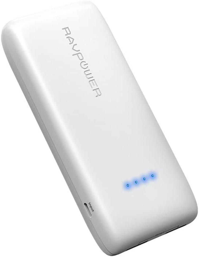 Powerbank RavPower Ace QC 3.0 12000 mAh White