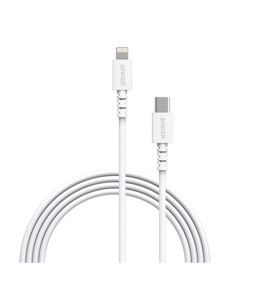 Kabel Anker Powerline Select USB-C to Lightning Cable White 0.9 m