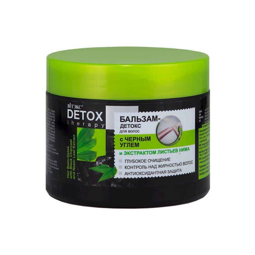 Balzam-detoks Витэкс Detox Therapy qara kömür və Nim yarpaqları ekstraktı ilə 300 ml