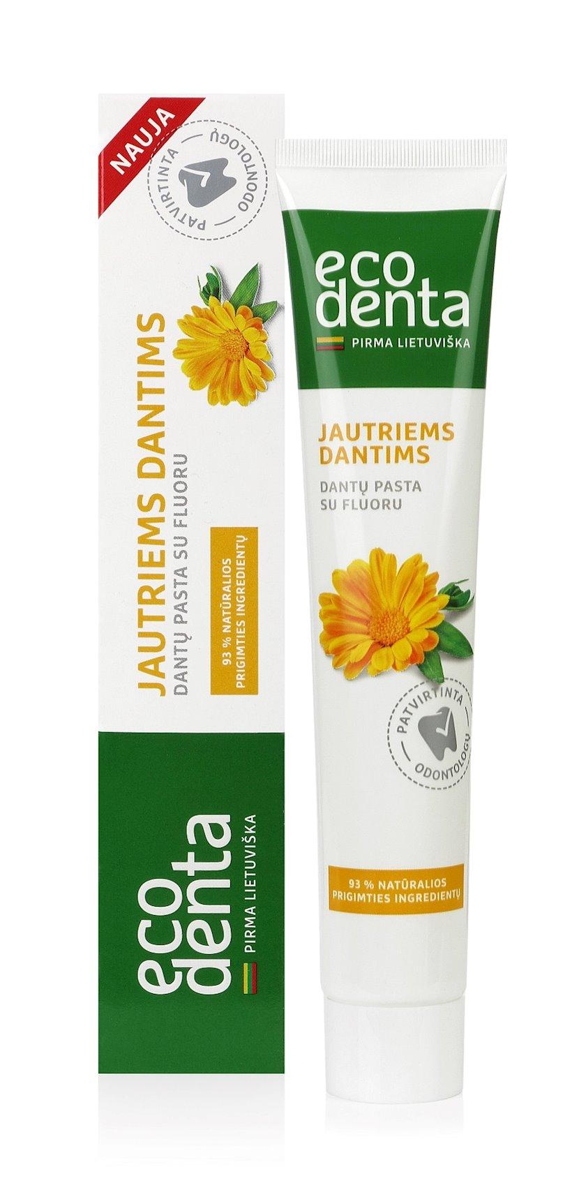 Diş məcunu Ecodenta Sensitivity Relief Toothpaste 75 ml