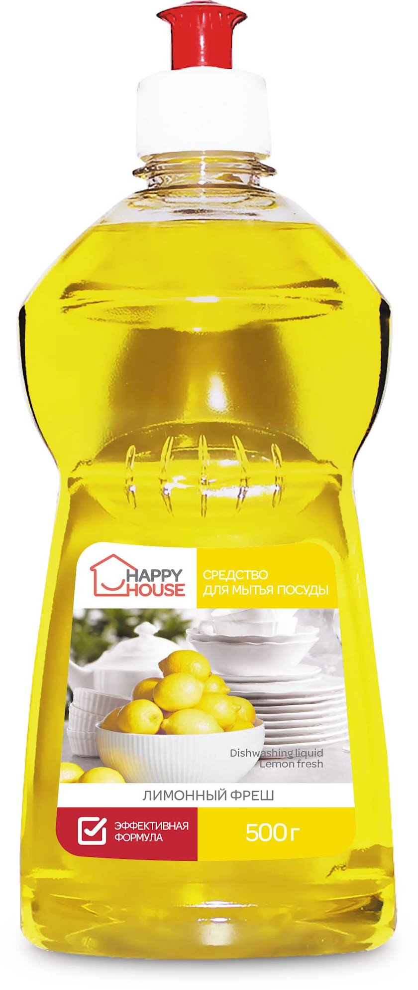 Qab yumaq üçün vasitə Romax Happy House Limon Fresh 500 q