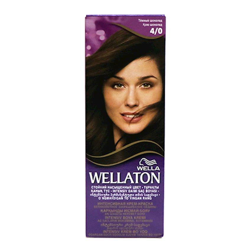 Saç boyası Wellaton 4/0 Tünd şokolad
