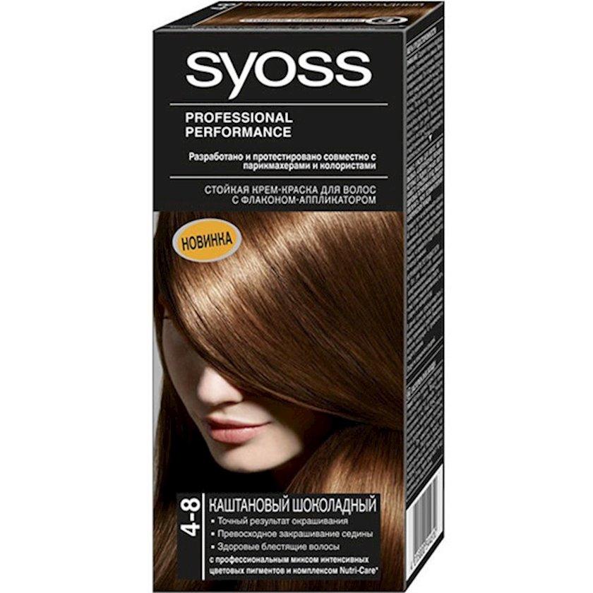Saç boyası Syoss 4-8 Şabalıdı şokolad